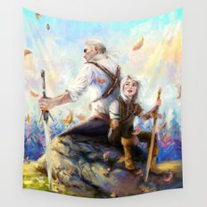 Happy Autumn Wall Tapestry