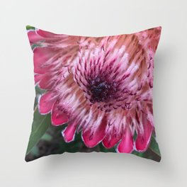 native flower Throw Pillow