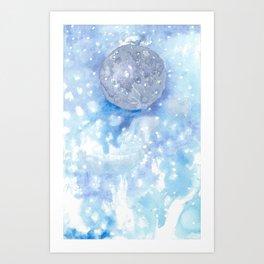 Light Moon Art Print