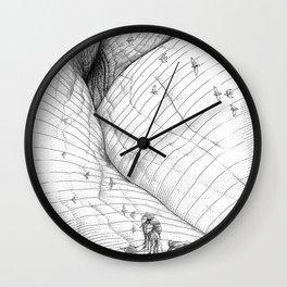 asc 660 - La route des origines (Bab alhaya) Wall Clock