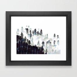 Zen Forest Framed Art Print