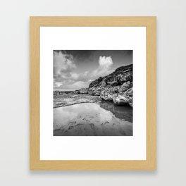 Cala Sant Esteve Framed Art Print