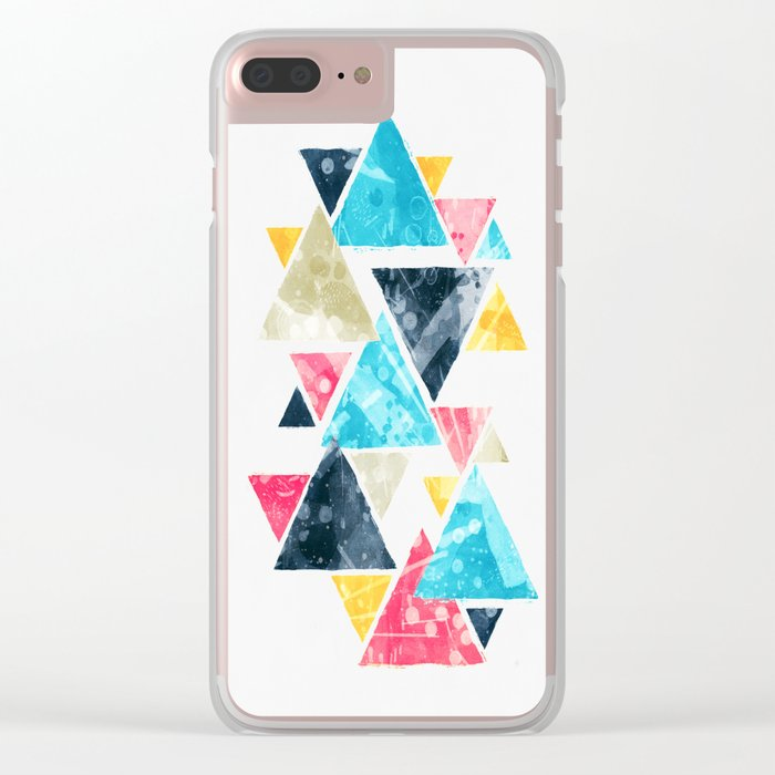 Triscape Clear iPhone Case