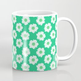 Daisy Emerald 2 Repeat Coffee Mug