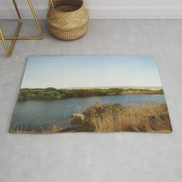 The pond by the Ocean Rug
