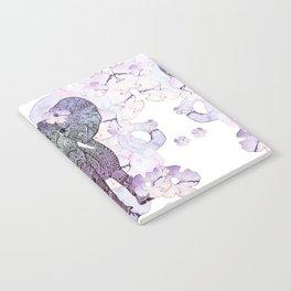 FLOWER SHOWER ELEPHANT Notebook