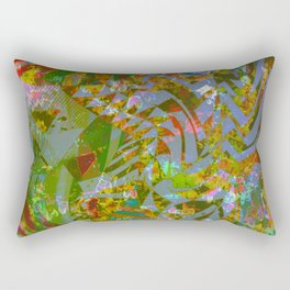 Fading memories (of when time was kind) Rectangular Pillow
