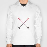 arrows Hoodies featuring Arrows by Indulge My Heart
