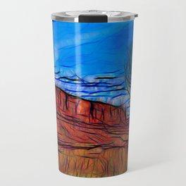 Banks of the Colorado Travel Mug
