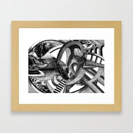 BigBang Framed Art Print