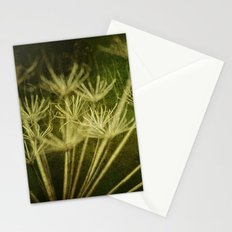 Weeds on Green Stationery Cards