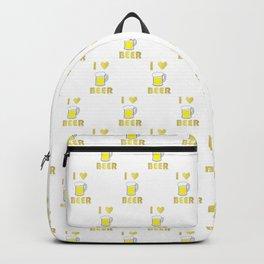 I Love Beer Backpack