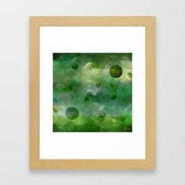 Aquatic Forest (Aquatic Creature) Framed Art Print