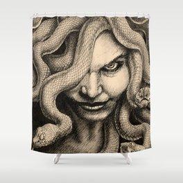 Medusa's Gaze Shower Curtain
