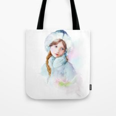Snow girl Tote Bag