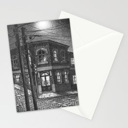 Downhill street Stationery Cards