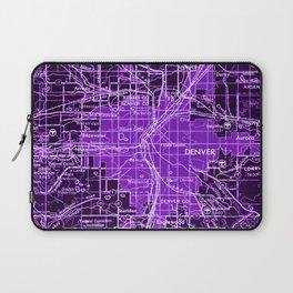 11-Denver Colorado 1958, america maps Laptop Sleeve