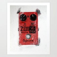 Guyatone PS 102 Zoom Box Distortion Art Print