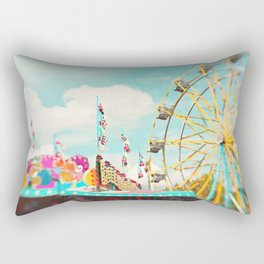 summer carnival fun Rectangular Pillow