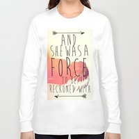 indie Long Sleeve T-shirts featuring indie by Shelby Breese