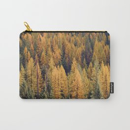 Autumn Tamarack Pine Trees Carry-All Pouch