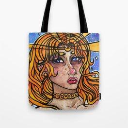 Tears of a Moon Princess Tote Bag