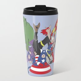 The Catvengers - Earth's Mightiest Kitties Travel Mug