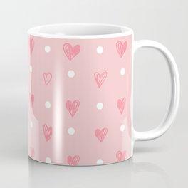 hearts pattern Coffee Mug