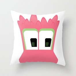 Bubble Beasts: Spiking Goo Throw Pillow