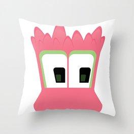Bubble Beasts: Spiking Goo Throw Pillow