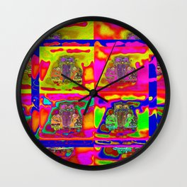 CRAZY NUT OLD CARS Wall Clock