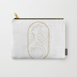 Girl Art Deco 03 Carry-All Pouch