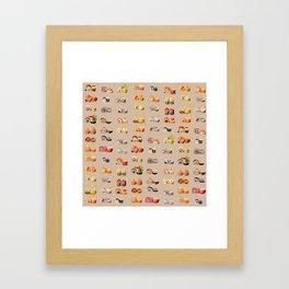 Sushi set Framed Art Print