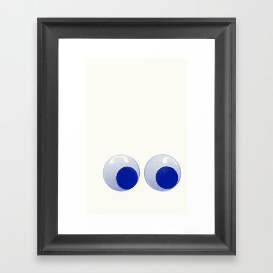 I always feel like... Framed Art Print