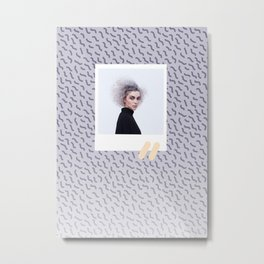 St. Vincent Squiggles Metal Print
