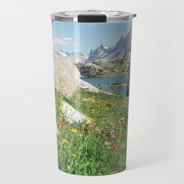 August Wildflowers in the Rockies Travel Mug