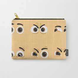 Pack of nice character eyes Carry-All Pouch