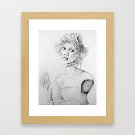 Paris Doll Framed Art Print