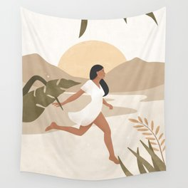 Magic Happens when you Don't Give Up Wall Tapestry