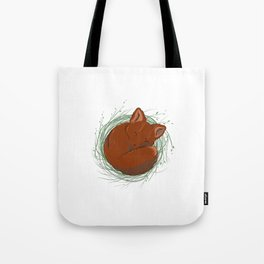 Little Fox - Cute Animals Tote Bag
