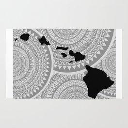 Hawaiian Islands [Tribal Illustration] Rug