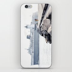 Badger Car Ferry - Ludington Michigan iPhone & iPod Skin