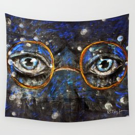 Gatsby Eyes Wall Tapestry