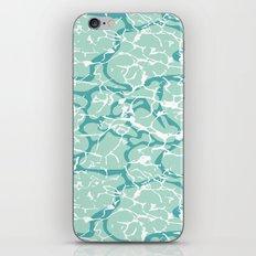 Water Camo iPhone Skin
