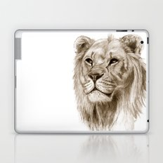 A Lion :: Without Pride Laptop & iPad Skin