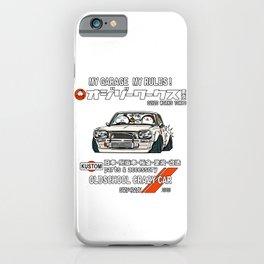 Crazy Car Art 0126 iPhone Case