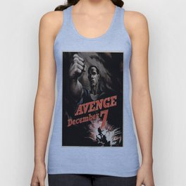 Vintage poster - Pearl Harbor Unisex Tank Top