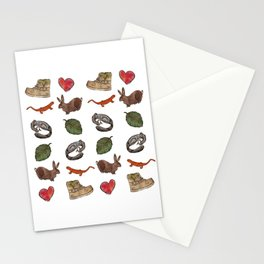 All about me Stationery Cards