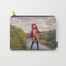Pink IV Carry-All Pouch