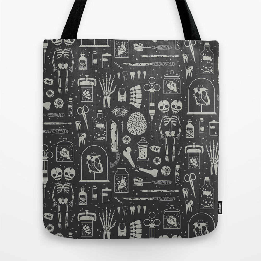 Oddities: X-ray Tote Bag by Camillechew TBG7884388
